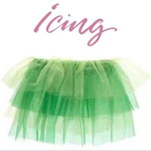 Dresses & Skirts - 💚Icing🆕Irish🍀Tutu Green & White Tulle